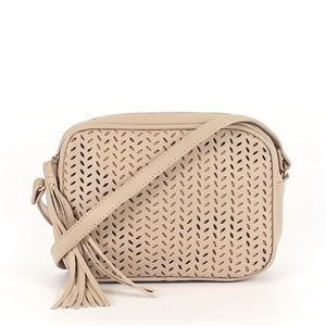 NWT Summer & rose crossbody tan